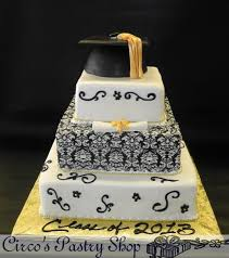edible graduation caps italian bakery fondant wedding cakes pastries and