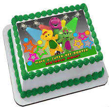 barney birthday cake cake world