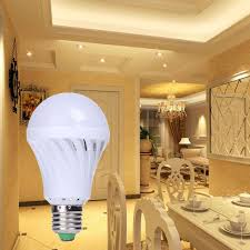 light sensor light bulbs 5w e27 ac85 220v 23 smd led bulb sound light sensor light bulb