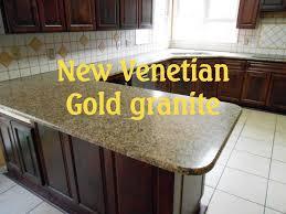 granite countertops charlotte new venetian gold 4 8 13 youtube