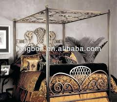 antique metal bed frames antique graceful dark bronze iron bed by