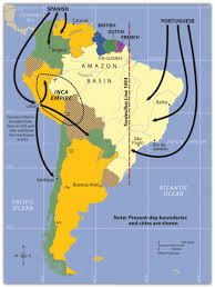 Climate Map Of South America by South America