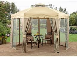 patio 60 appealing patio design with cream hardtop gazebo and