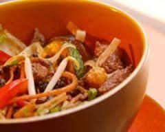 cuisiner le kangourou recette emincé de filet d autruche et de filet de kangourou