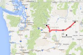 Google Maps Washington State by Blogography Pizza