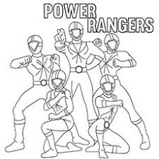 free printable power ranger party decorations invitations
