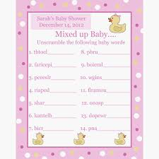 bridal shower gift bingo photo creative baby shower bingo image