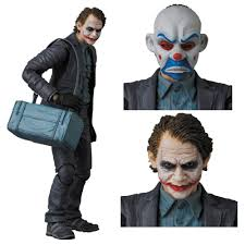 halloween costumes joker dark knight mafex the dark knight joker bank robber joker action figure