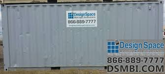 8x20 used storage container design space modular buildings inc