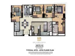 floor layouts floor plans unit layouts uptown ritz uptown bonifacio live
