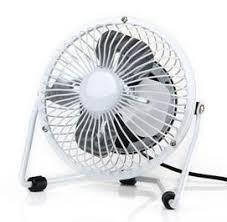Office Desk Fan High Quality White 4 Mini Usb Desk Fan Portable Office Desktop Pc
