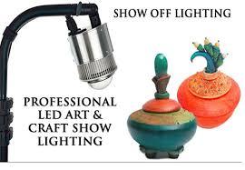 art show display lighting trade show displays led light strips