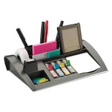 Post It Desk Organizer Post It Mmmc50 Notes Dispenser With Weighted Base Plastic 10 1 4