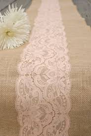 Burlap Lace Table Runner Best 25 Burlap Runners Ideas On Pinterest Burlap Table