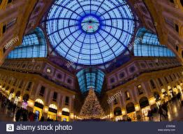 christmas shopping in milan galleria vittorio emanuele ii with a