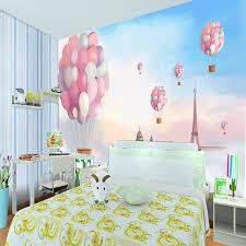 himmel kinderzimmer shop 3d wandbild himmel weiße wolken ballon