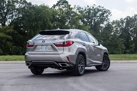 lexus atomic silver review 2017 lexus rx 350 f sport canadian auto review