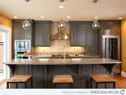 pictures of kitchens with gray cabinets kitchens with gray cabinets 15 warm and grey kitchen cabinets home