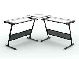 Glass top Desk Office Max  Large Home Office Furniture