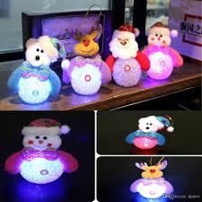 cartoon christmas decoration led lighting night light snowman
