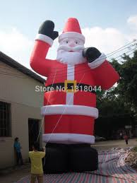 Outdoor Inflatable Christmas Ornaments by Aliexpress Com Buy 8mh 26ft Outdoor Giant Inflatable Christmas