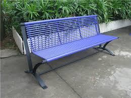 Steel Outdoor Bench 6 Feet Long Outdoor Bench Chair Park Bench Garden Chair Metal Park