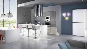 cuisine gris et bleu decoration cuisine gris et bleu