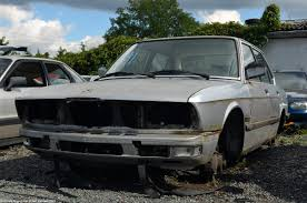 rust in peace bmw e28 ran when parked