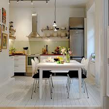 small kitchen table ideas white painted wall mounted kitchen