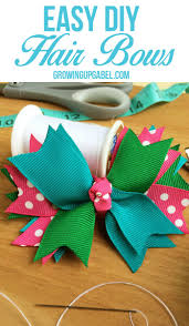 hair bows for how to make hair bows out of ribbon