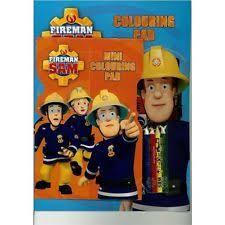 fireman sam play pack colouring book activity party bag box021