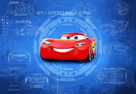 disney wallpaper for children s bedroom cars 3 red blue wall giant size wall mural wallpaper