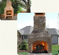 Pizza Oven Outdoor Fireplace by Outdoor Masonry Fireplaces Pizza Ovens Fire Pits Stone Age