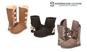 ugg boots australian leather australian leather ugg boots groupon goods