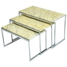 table pleasant mid century modern nesting tables side nesting