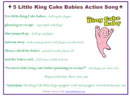 king cake babies 5 king cake babies song finger play keila v dawson