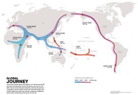 Route Mapping by Dna Reveals Undiscovered Ancient Migration Route Nat Geo