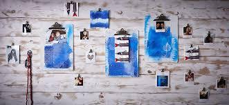 declic cuisine idées déco clipboard déclic bleu decorando a parede
