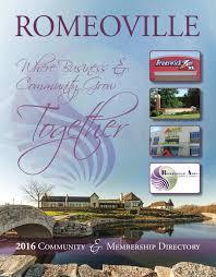 romeoville il community profile by town square publications llc