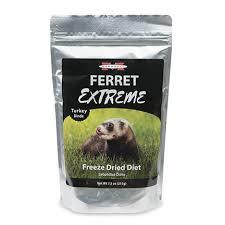 ferret extreme freeze dried ferret food turkey drsfostersmith com