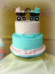 81 best twins baby shower cake images on pinterest twin baby