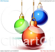 royalty free rf clipart illustration of three blue snowflake