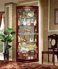 furniture artificial indoor plant with corner showcase designs