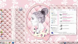 theme de bureau windows 7 pink theme for windows 7 by mllebarbie03 on deviantart