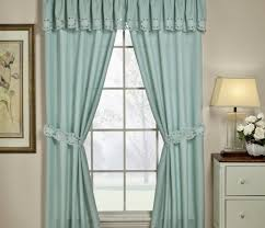 Kitchen Curtains Blue Blinds Green Curtains Stylish Green Curtains With Flowers