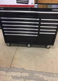 husky 66 in w 24 in d 12 drawer heavy duty mobile workbench husky 52 in 12 drawer tool cabinet household in saint paul mn