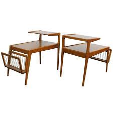 Teak Side Table Pair Teak Side Tables By Kurt Ostervig At 1stdibs