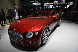 bentley supercar 2017 iaa frankfurt 2017 bentley continental gt gtspirit