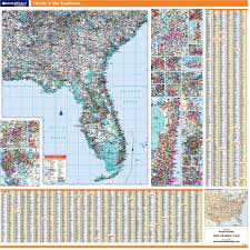 Map Of The Southeastern United States by Rand Mcnally Proseries Regional Wall Map Florida And The