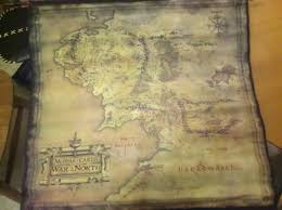 Lord Of The Rings Map Quiver At The Sight Of Lord Of The Rings War In The North U0027s